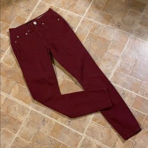 Aeropostale high waisted jeggings size women's 000